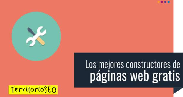 mejores constructores paginas web gratis