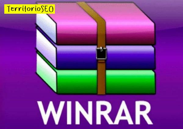 comprimir archivos winrar